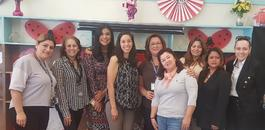 Board Member Kelly Gonez Visits Saticoy