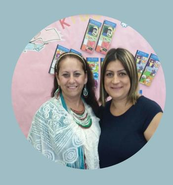 Community Representatives Ms.Lopez & Ms.Aridjian